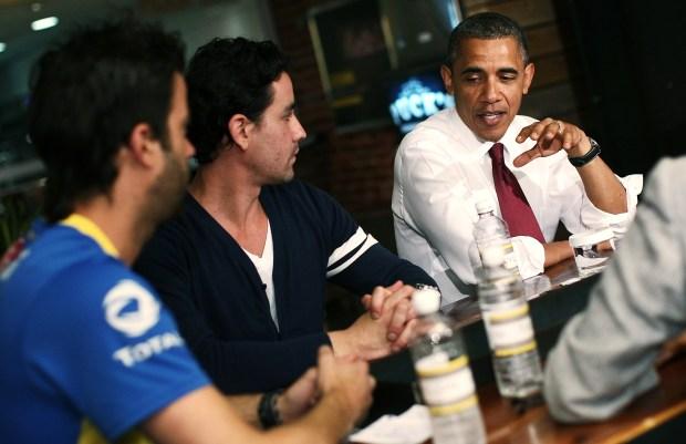 Obama Orders Hoagies at Taylor Gourmet