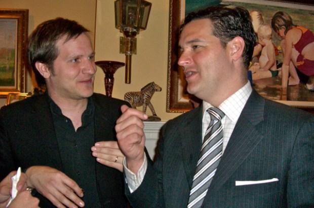 [NTSD] NitePics: Inside the Matt Labash Book Party at Tucker Carlson's House