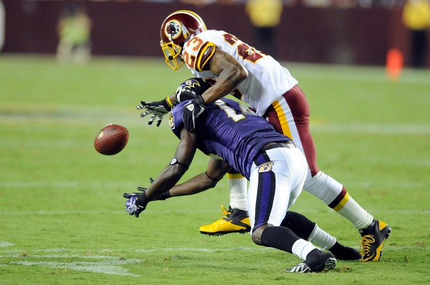 Images From Redskins-Ravens Preseason Game