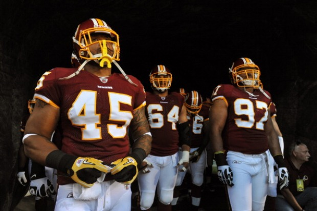 Images From Redskins 16, Steelers 7