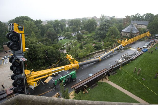 Images: Crane Collapses at Cathedral