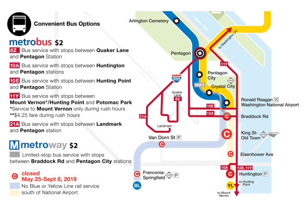 Metro's Summer Shutdown: What You Need to Know About Blue