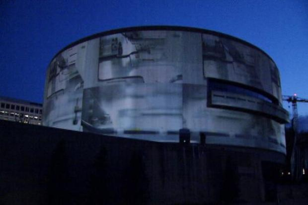 [DC] 'SONG 1' Takes Over the Hirshhorn Exterior