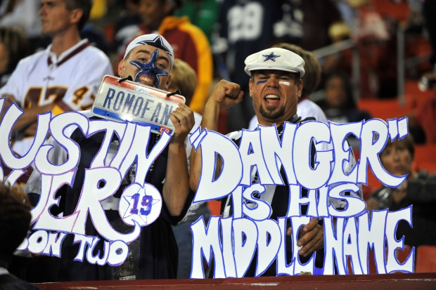 Images From Cowboys-Redskins Game