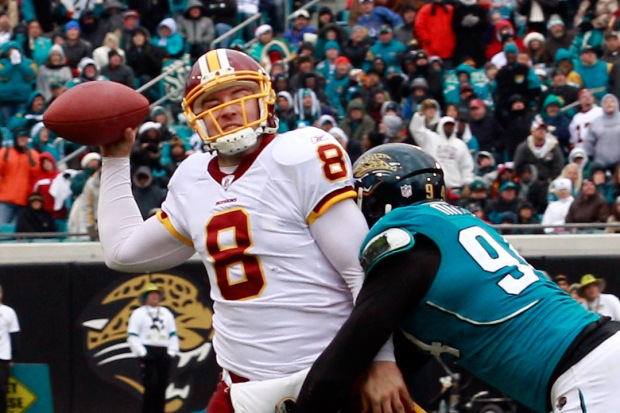 Images From Redskins-Jaguars Game