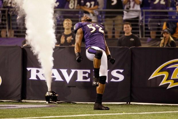 Images From Redskins-Ravens Game