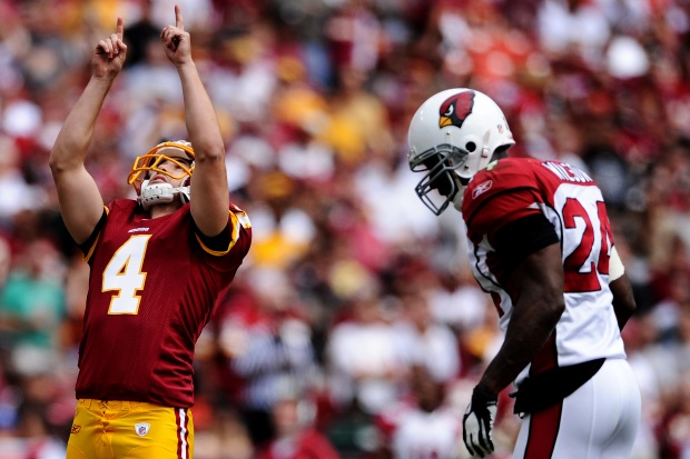 Images From Redskins-Cardinals Game