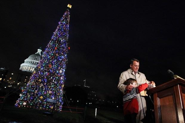 Pics: Capitol Christmas Tree Lighting
