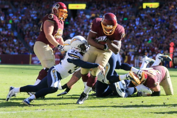PHOTOS: Redskins Survive San Diego's Charge
