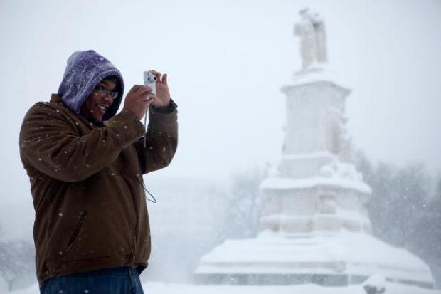 DC's Snow-Covered Scenes