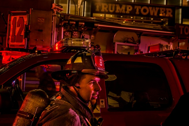 See the Major Fire That Raged at Trump Tower