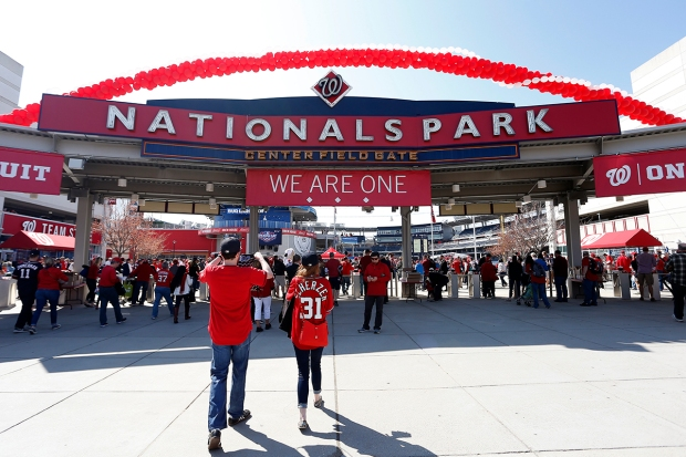 PHOTOS: Seen at Opening Day at Nats Park