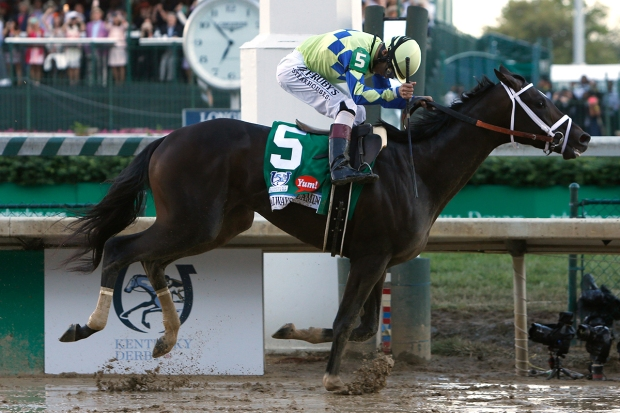 [NATL] PHOTOS: Always Dreaming Wins the 143rd Kentucky Derby