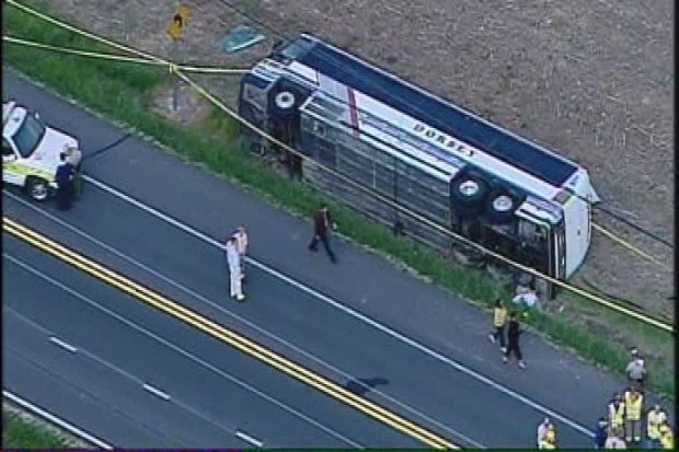 [DC] Raw Video: Queen Anne's Bus Crash