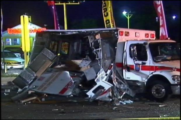 [DC] 3 Dead After Head-On Crash With Ambulance