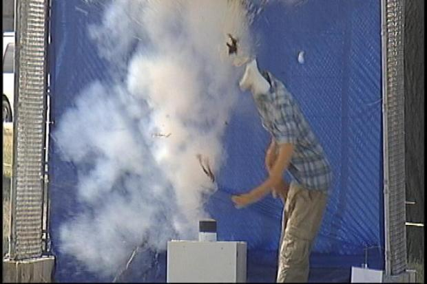 [DC] Fireworks Dangers Demonstrated