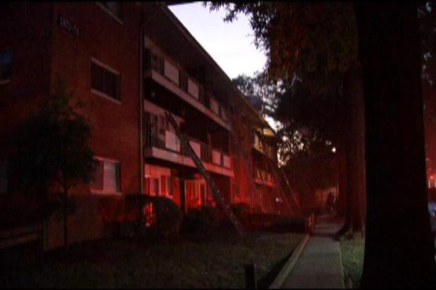 [DC] Fire Destroys Apartments in District Heights