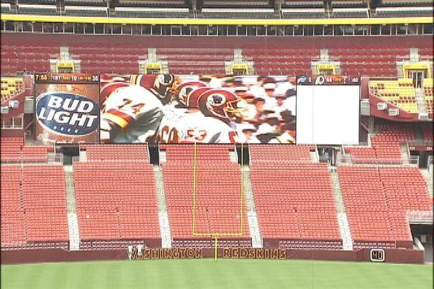 Upgrades at FedEx Field
