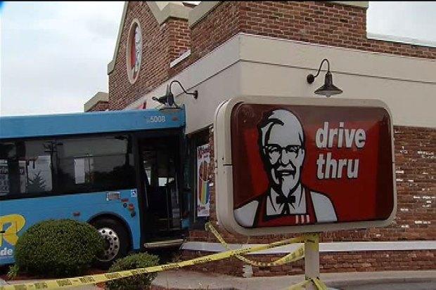 Bus vs. KFC