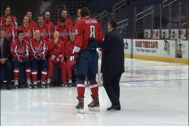 "[DC] Ovi Teased About ""Dad"" Leonsis"