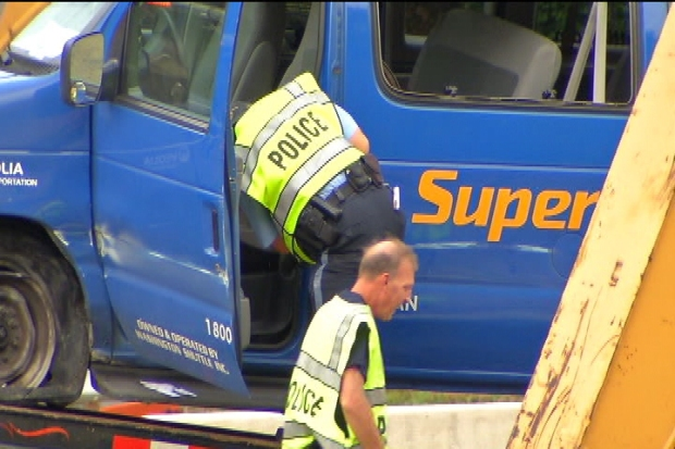 [DC] Raw Video: SuperShuttle Crash