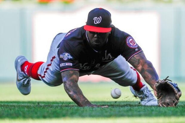 Playoffs in Pics: Take a Look Back at Some Moments From the Nats' Postseason Run