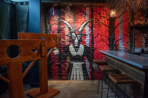 Photos: 'Death Becomes Us' True Crime Pop-Up Bar Haunts DC