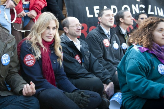 Daryl Hannah Arrested Protesting Keystone XL Pipeline Outside White House