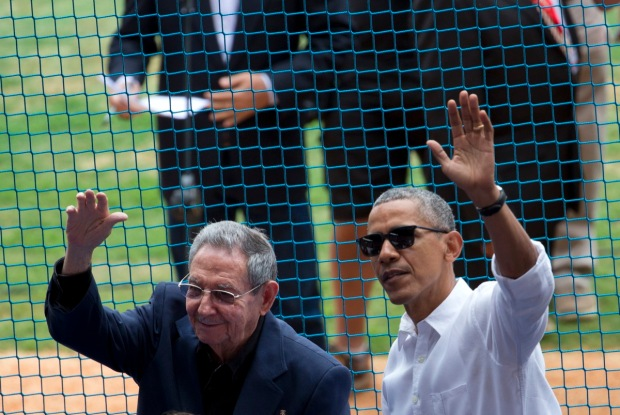 [NATL-MIA] Scenes From President Obama's Historic Cuba Trip