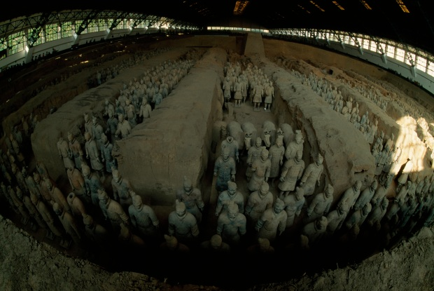 Face to Face With China's Terra Cotta Warriors
