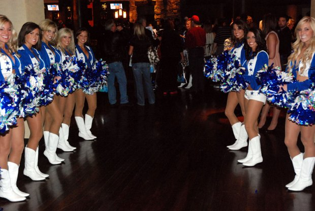 Cowboys Cheerleaders Reveal 2009 Swimsuit Calendar