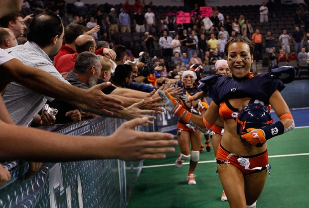 Lingerie Football Sizzles in Season Opener