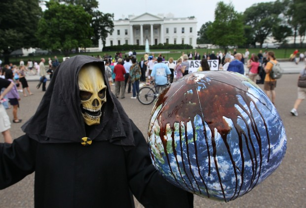 Protesters Get Creative in D.C.