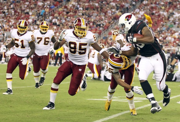 Images From Redskins-Cardinals Preseason Game
