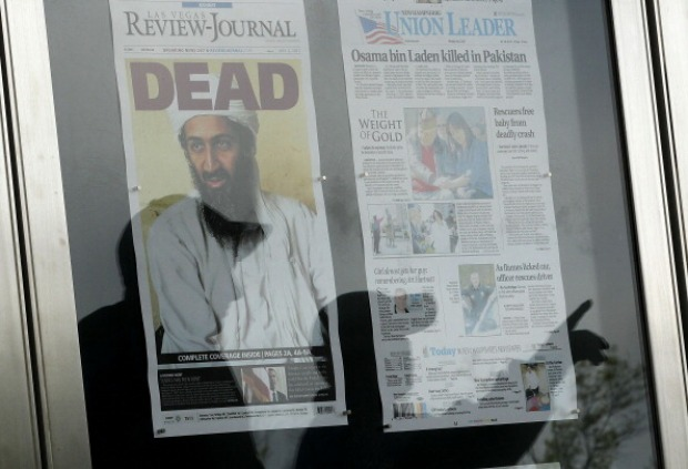 Bin Laden Headlines Attract Crowd to Newseum