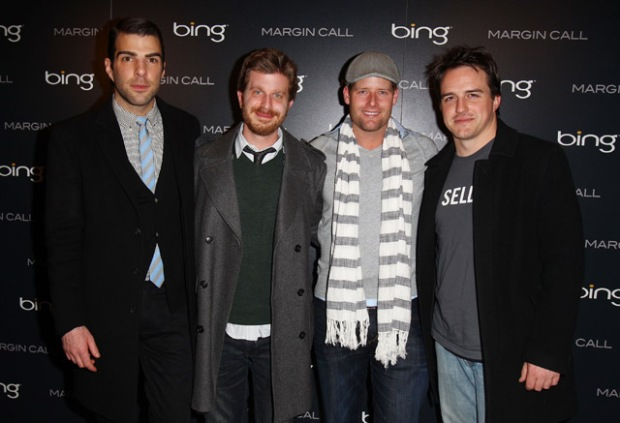"[NBCAH] The Cast of ""Margin Call"" Talk About Their Movie and Occupy Wall Street"
