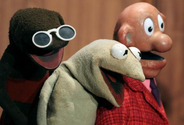 """Sam and Friends"" - Including Kermit - Donated to Smithsonian"