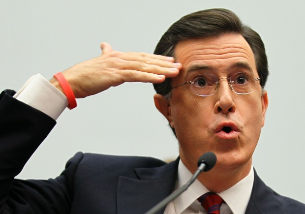 Colbert Testifies on Capitol Hill