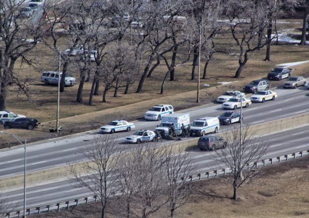 [CHI] Lake Shore Drive Police Chase Leads to Standoff