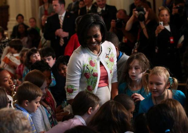 First Lady Welcomes Executive Office Kids to Take Our Daughters and Sons to Work Day