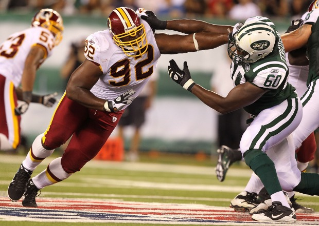 Images From Redskins-Jets Preseason Game