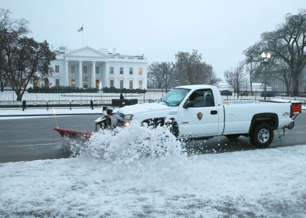 PHOTOS: Snow, Ice Cover Parts of DC