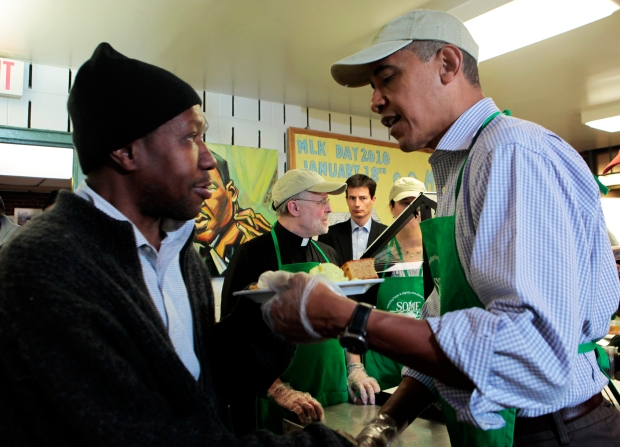 President Honors Dr. King With Day of Service
