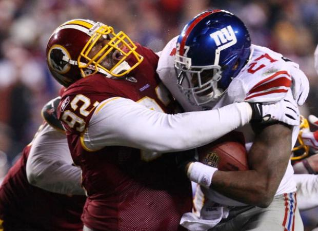 MoshPix: Giants 45, Redskins 12