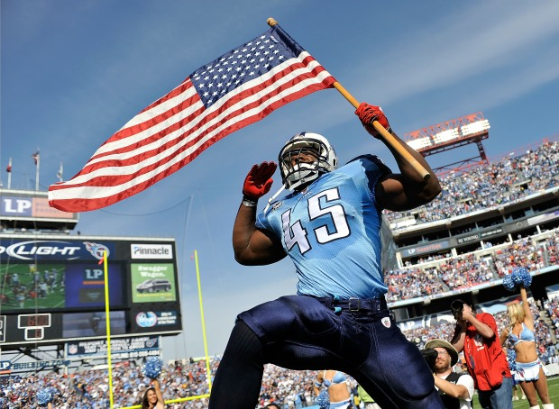 Images From Redskins-Titans Game