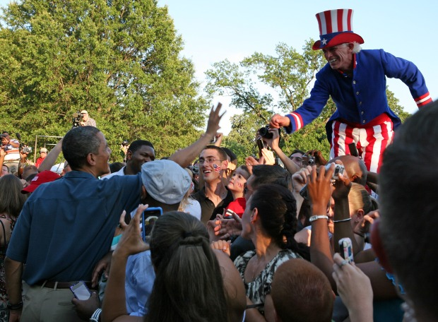 American Spirit on Mall for Fourth