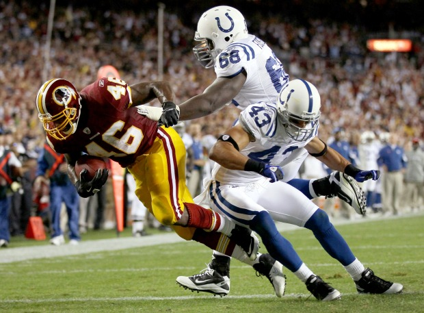 Images From Redskins-Colts Game