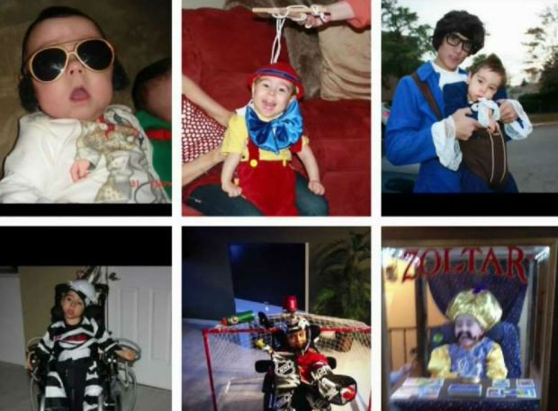 [NATL-CHI] See 9 Years of Epic Halloween Costumes for Boy With Special Needs