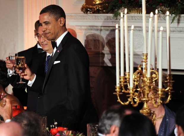 No Salahis, No Problem: Obamas Host State Dinner