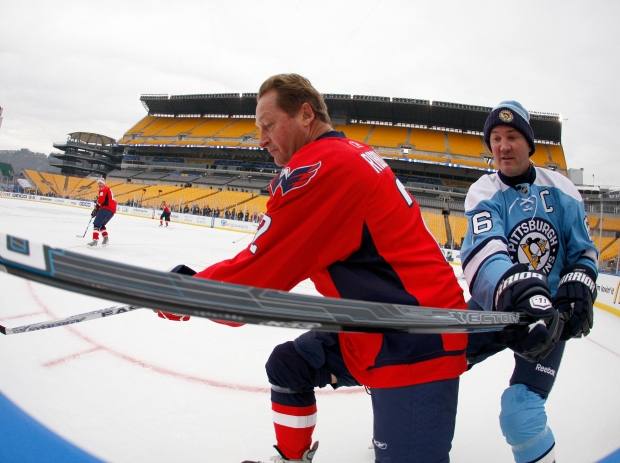 Winter Classic Alumni Game in Pictures
